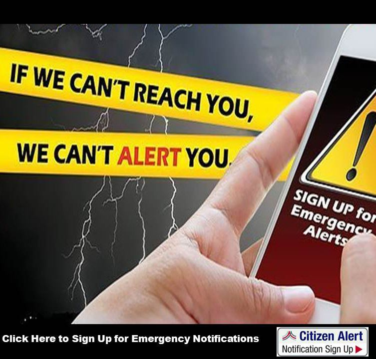 Sign up for emergency notifications Spotlight