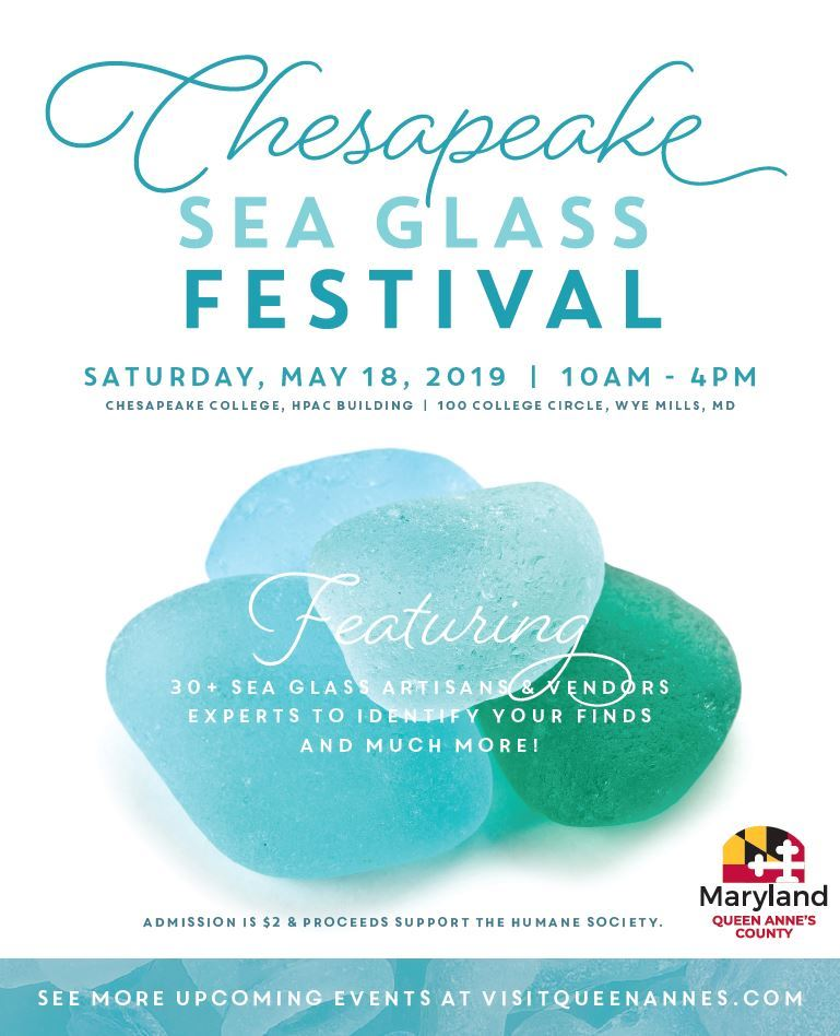 Seaglass Festival Flyer  May 18, 2019