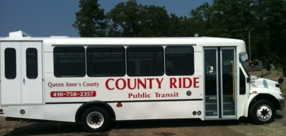 County Ride Bus