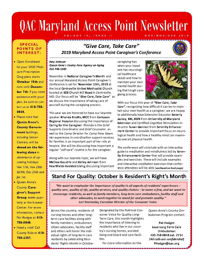 MAP Newsletter Oct 19_Page1