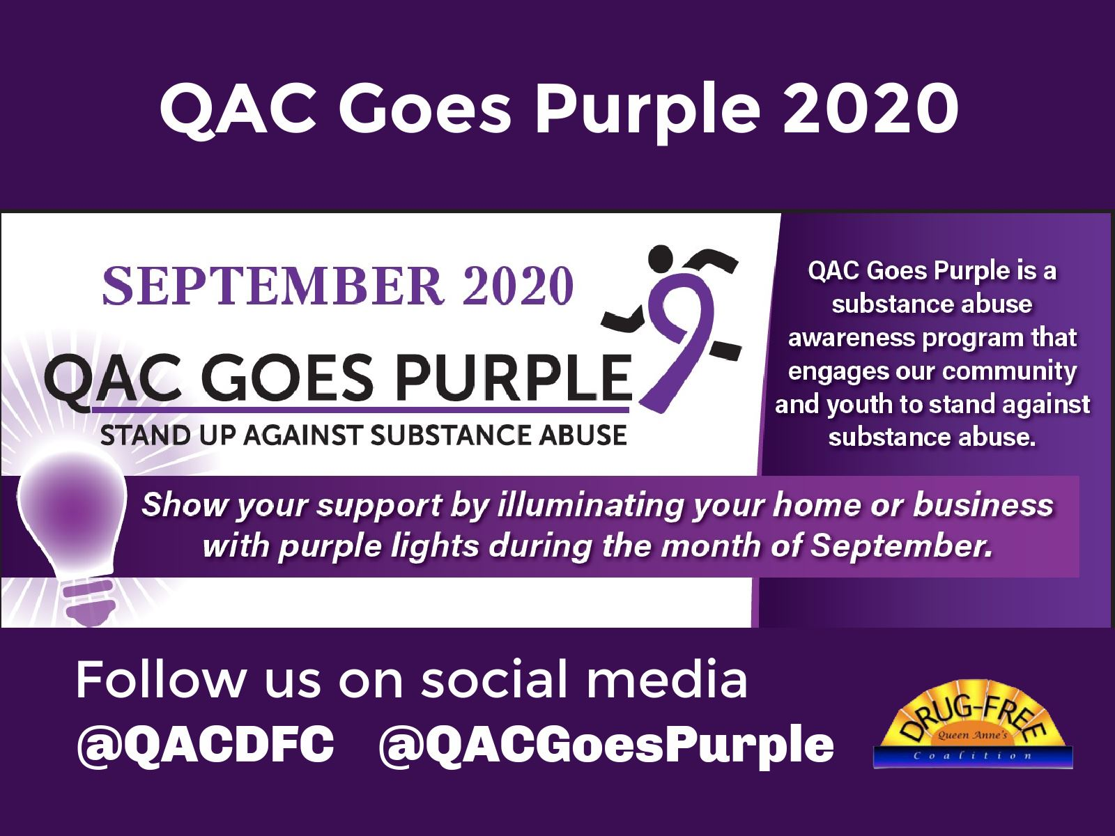 QAC Goes Purple 2020