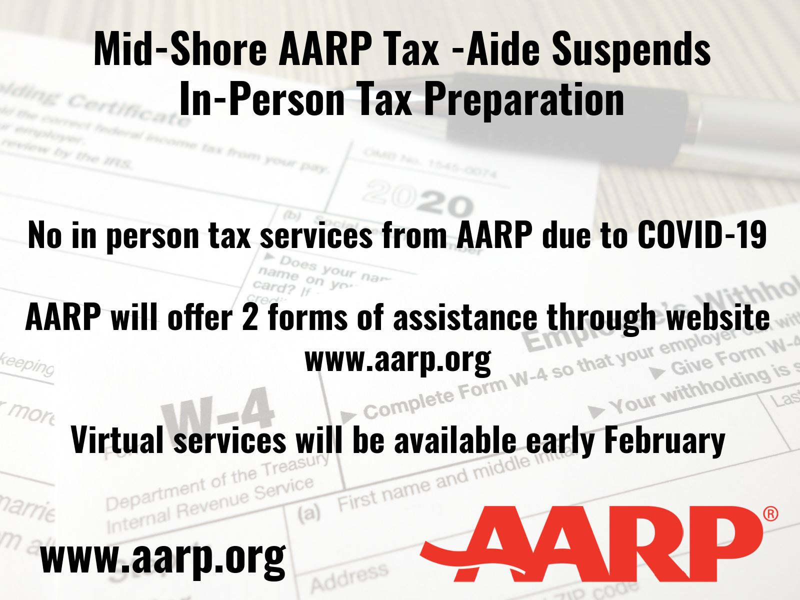 AARP Tax Services