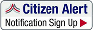 Citizen Alert Notification Signup