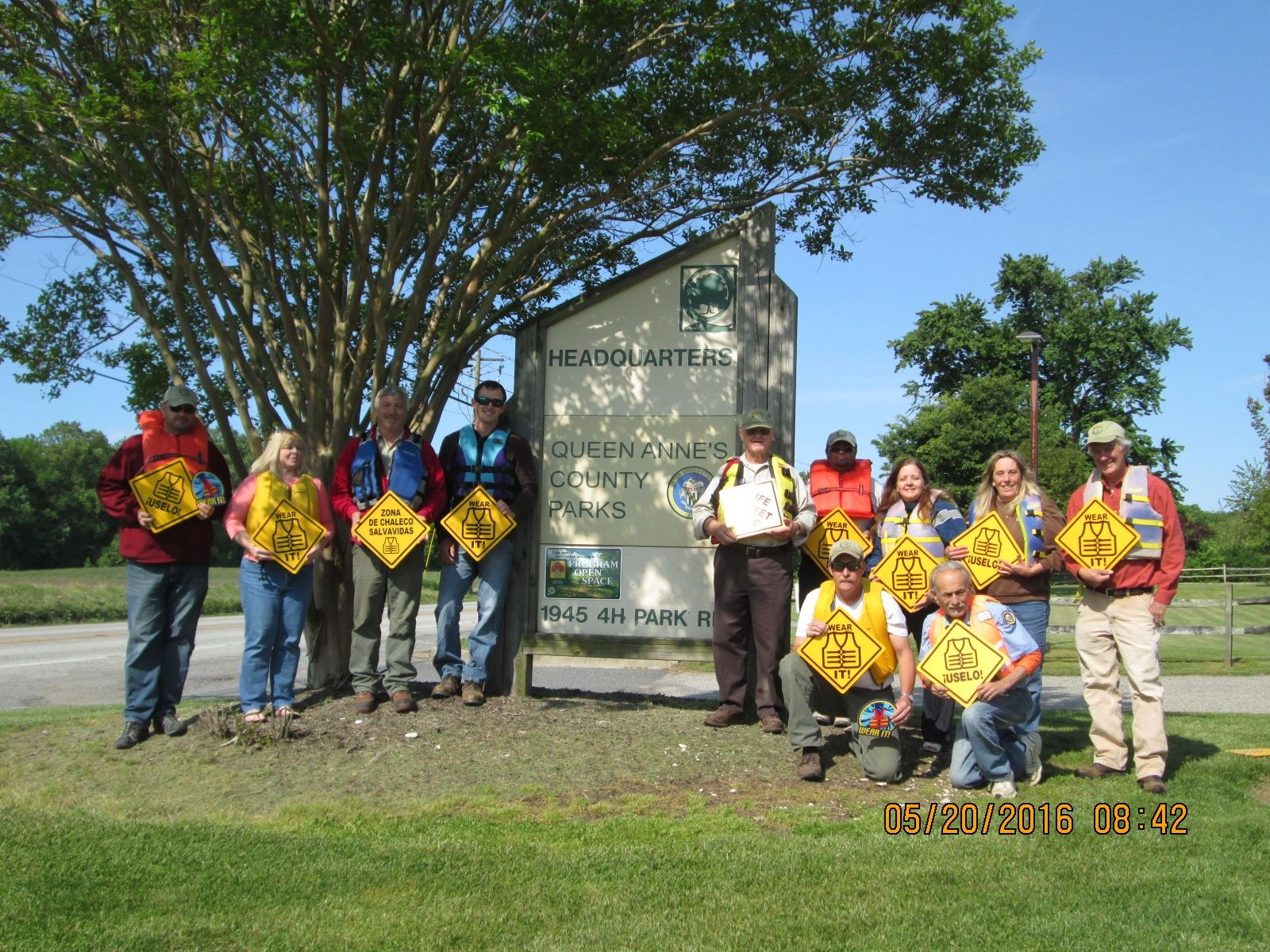 QA Parks Dept_Wear Life Preserver to Work Day_May 20 2016 005