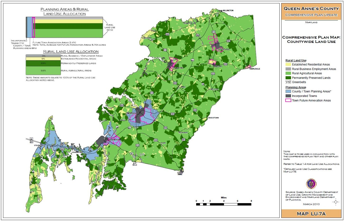 Countywide Land Use Map