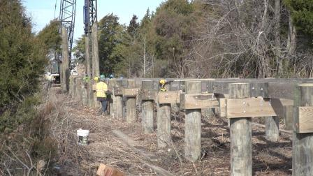 Resized Cross Island Trail construction - KN 7